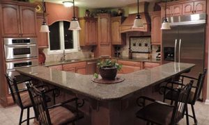 Delray Beach Kitchen Granite Countertop