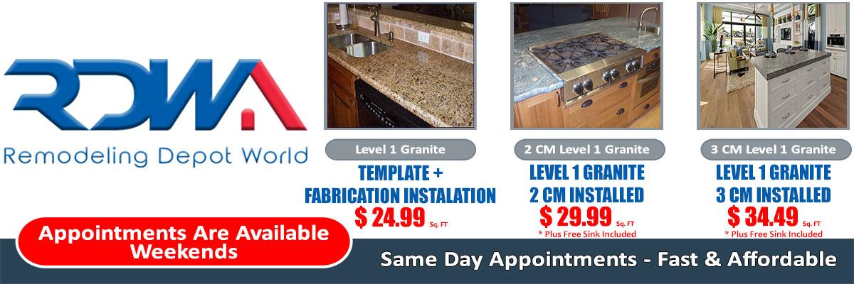 South Florida Kitchen Granite Countertop Offer